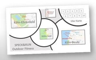 Mehr Flexibilität mit der neuen 10er Karte für alle, die bereits das Vergnügen mitSPECK&RUN hatten