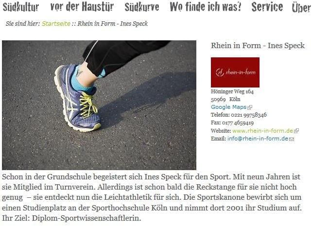SPECK&RUN & Meine Südstadt.de