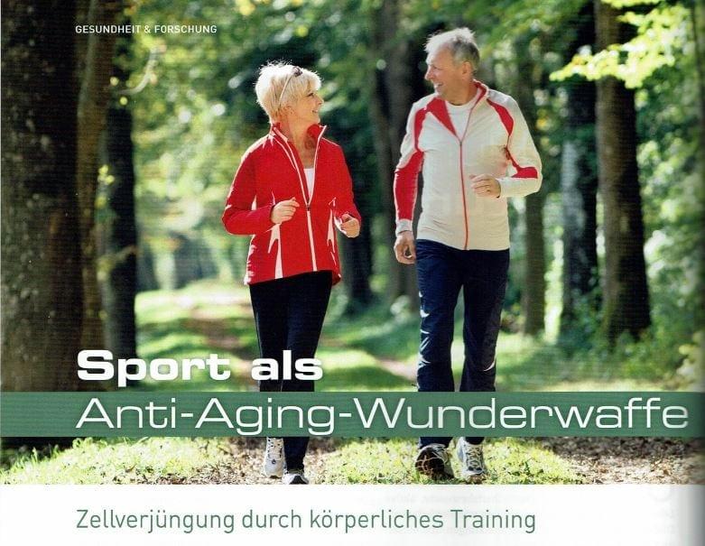 Sport als Antig-Aging-Wunderwaffe