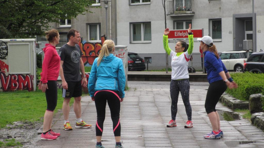 Outdoor Fitness SPECK&RUN_Aufwäremen