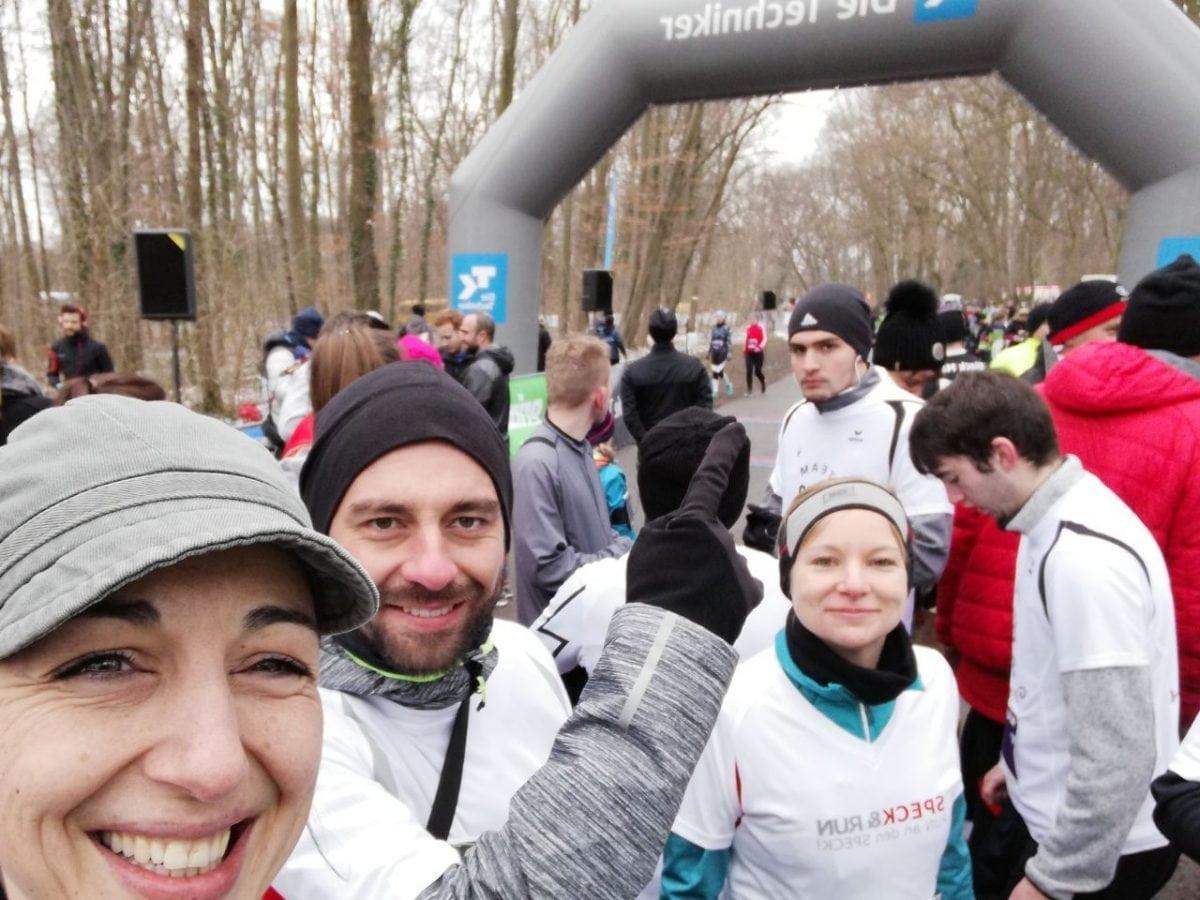 Team SPECK&RUN rockt beim Frühlingslauf 2018